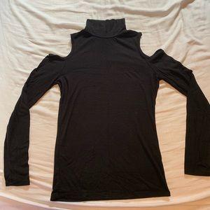 Cold Shoulder Long Sleeve Shirt